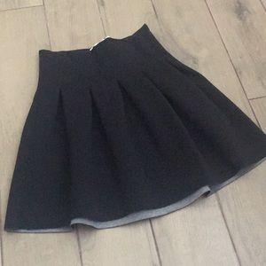 Alexander Wang Neoprene/Scuba skirt